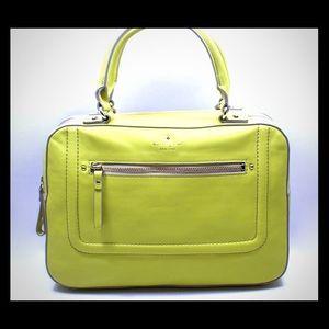 Kate Spade Mott Street purse in citrine color